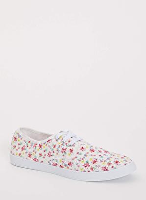 DeFacto Çiçek Desenli Sneaker